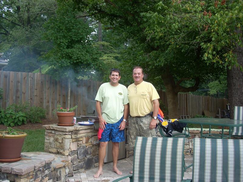 09 08  Michael Tiemeyer and Mark Galey of FC Atlanta. lb