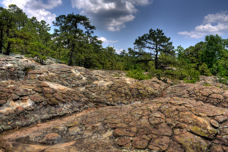 Turtle Rocks on Petit Jean Mountain