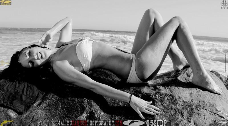 beautiful woman sunset beach swimsuit model 45surf 864..09...
