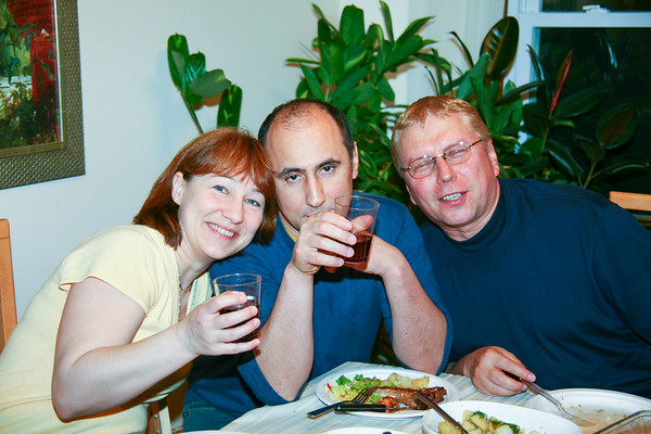 George's Birthday celebration - April, 2009
