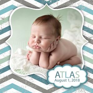 Atlas Mini Accordion Album Proof