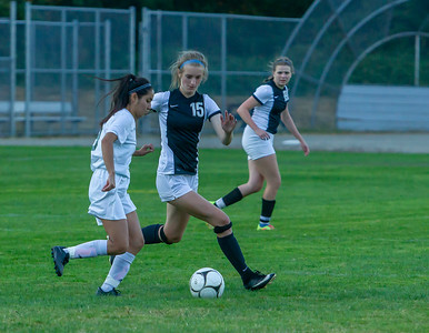 Through half time, Set four: Girls Varsity Soccer v Evergreen 09/04/2018