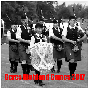 The 2017 Ceres Highland Games