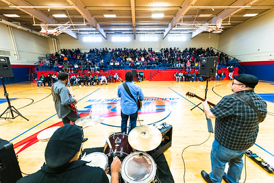 Blues in the Schools with the Marquise Knox Band