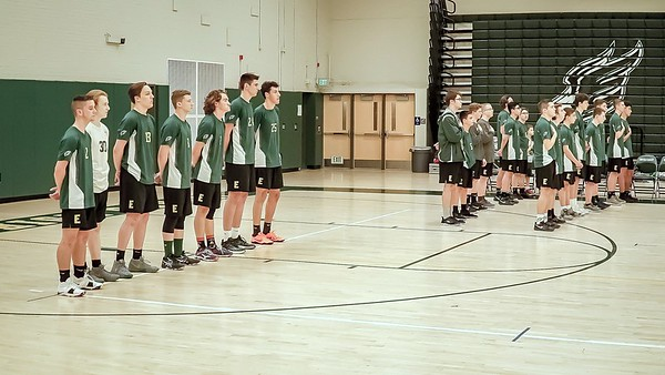 EHS Boys Volleyball vs. Hall 2018