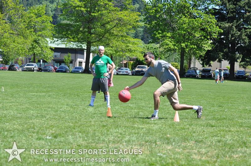 Recesstime Sports Leagues Portland Kickball Spring 2013 Dodgeball Bowling Ping Pong Mushball - 068
