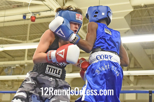 Bout 5 Rafael DeJesus, Red Gloves -vs- Isaac Williamson, Blue Gloves, 1 1/2 Min. Rds.