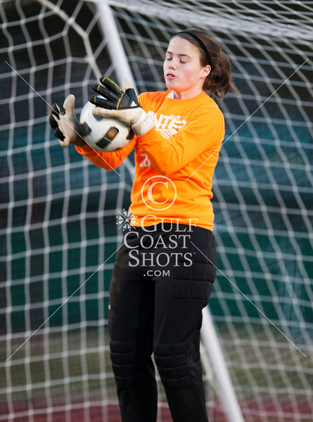 2011-01-26 Soccer Varsity Girls St. Agnes @ St. John's