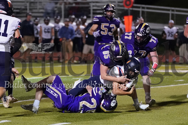 Cooper Coyle  & Nathan Lessner tackle