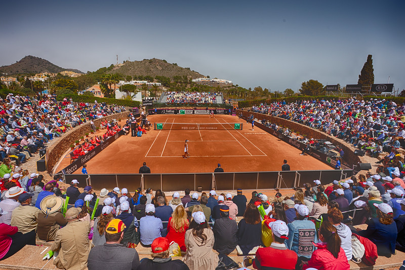 Fed Cup April '18 Espana v Paraguay