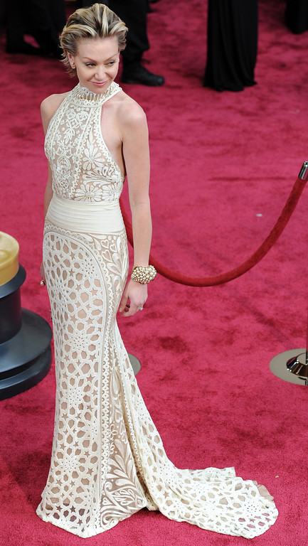 . Portia de Rossi attends the 86th Academy Awards at the Dolby Theatre in Hollywood, California on Sunday March 2, 2014 (Photo by John McCoy / Los Angeles Daily News)