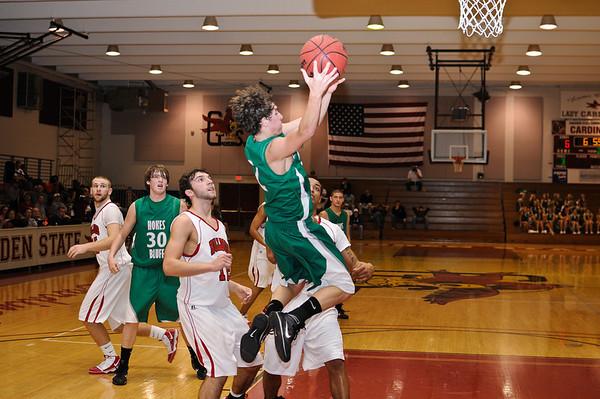 Hokes Bluff Varsity Boys vs Gaston, January 18, 2010