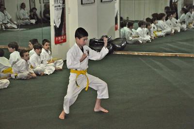 Karate Orange Belt Promotion