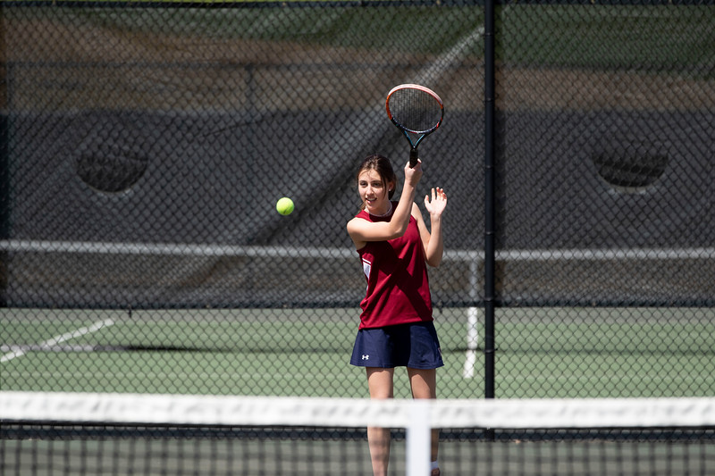 Girls' Thirds Tennis v Canterbury
