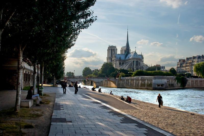 Notre Dame from Quai de la Tournelle June, 2008