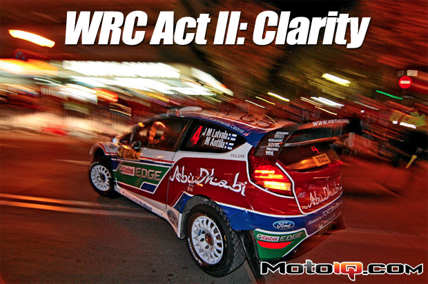 WRC Act II: Clarity