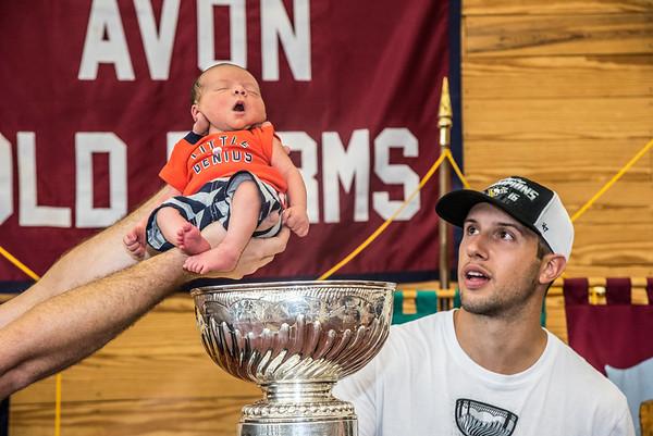 2016 Stanley Cup Bonino Visit