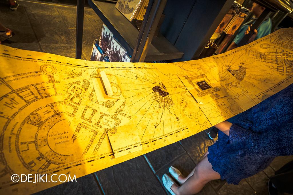 Universal Studios Japan - The Wizarding World of Harry Potter - Filch's Emporium Marauder's Map