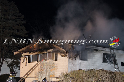 Westbury F.D. House Fire 32 3rd Ave.1-8-15