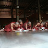 Monks studying in Mandalay.