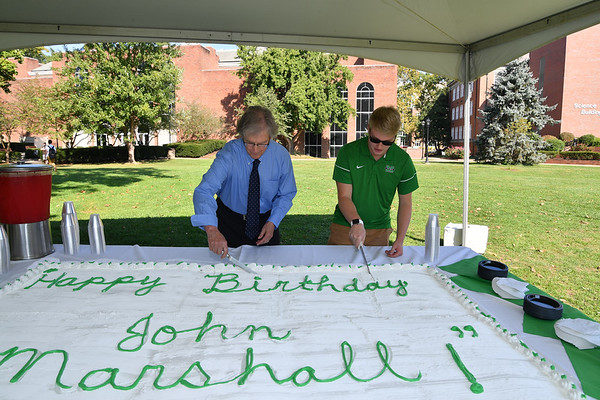 Constitution Week- Sept. 2017-Cake cutting