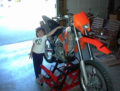 2000 KTM 520 EXC; Purchased in July, 2002