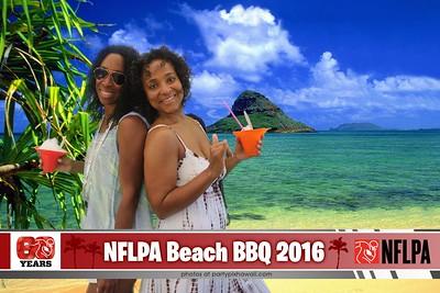 NFLPA Beach BBQ (Green Screen Party Portraits)