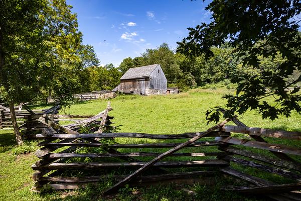 Militia Camp at Colonial Pennsylvania Plantation