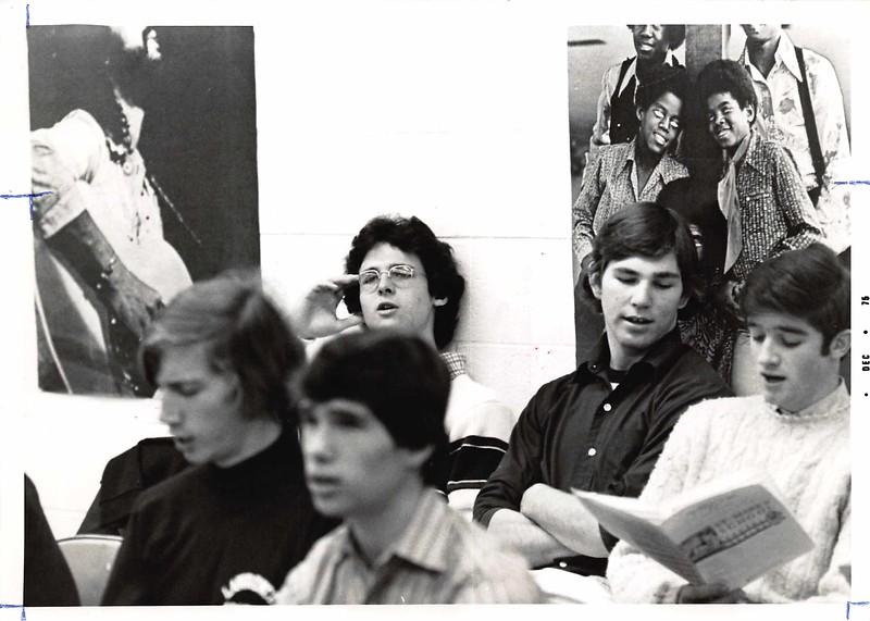 Seth Williams, Nic Bache (front); Bob Boucher, Pat Cahill, Clark Sutton (back)