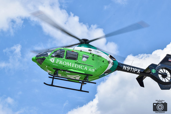 Promedica Helicopter Landing