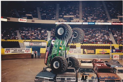 2000 Richmond Coliseum Thunder Nationals Monster Jam