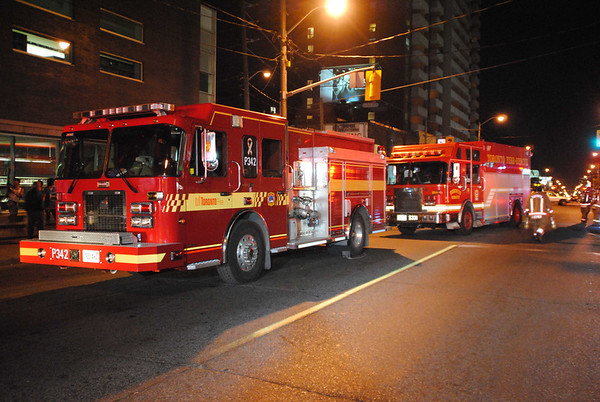 October 8, 2011 - 2nd Alarm - 1739 Eglinton Ave. West