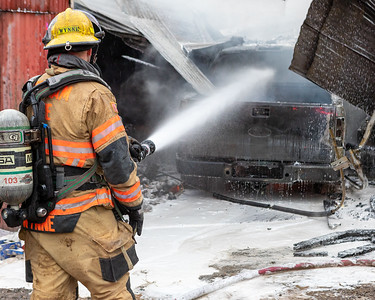 Structure Fire - 27325 SE Stone Road, Gresham, OR - 1/2/21