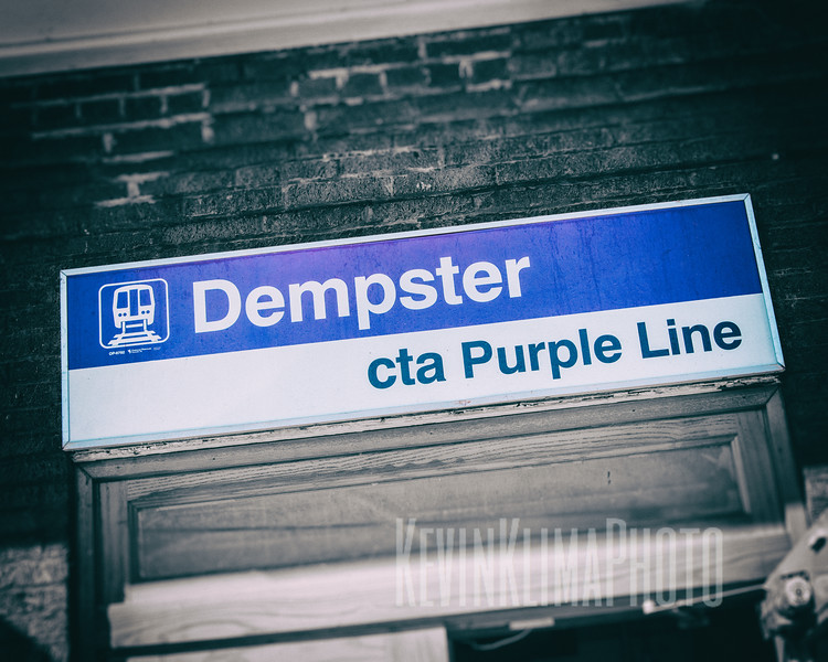 Dempster CTA Purple Line