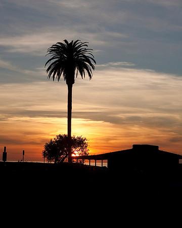 Moonlight Beach Sunset