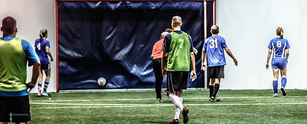 20130707 Warrior Indoor Soccer O30 Coed