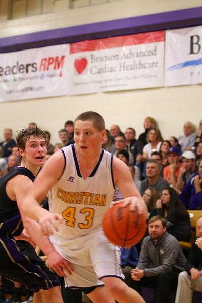 Boys Basketball vs. Schoolcraft - 1/8/16 - KCHS