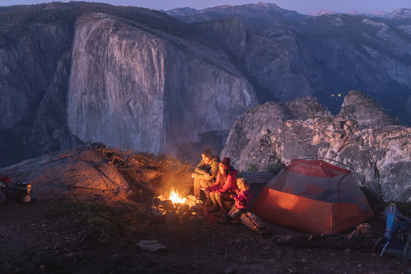 Yosemite Valley Camp, California