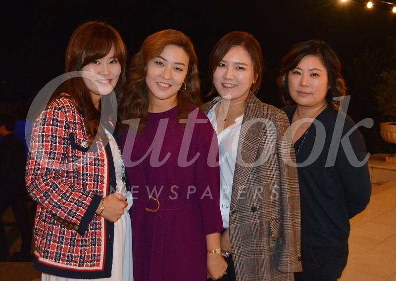 Eun Iris Lee, Rebekah Park, Min Park and Ruth Lee