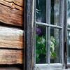 Window in a blockhouse