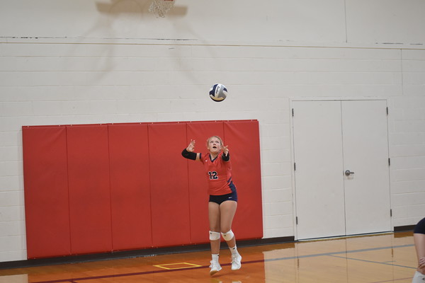 7th grade volleyball vs. Elkhorn Middle