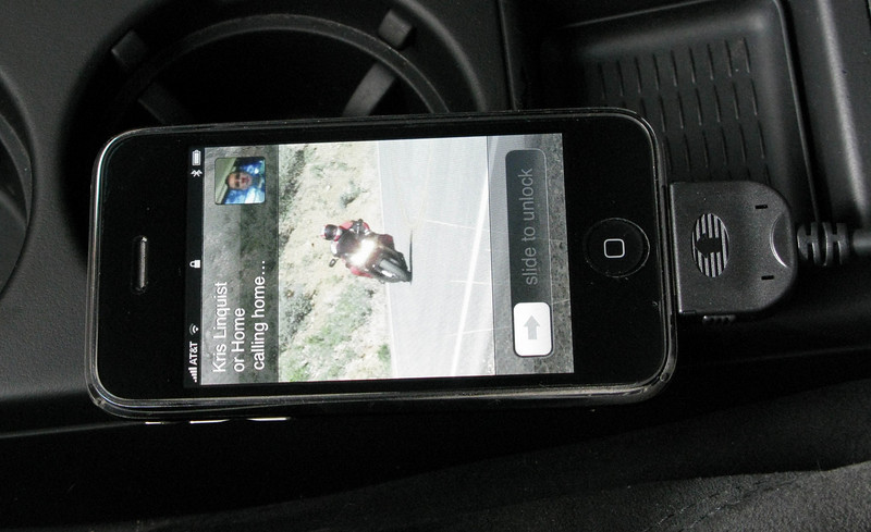iPhone connected to OEM Bluetooth kit