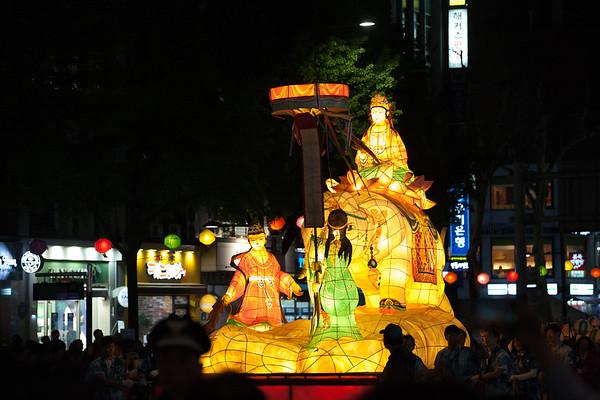 Seoul Lantern Festival April 2017