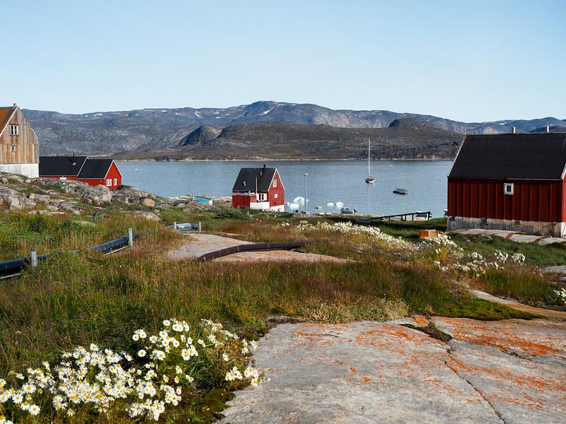 Views in Oqaatsut, Greenland