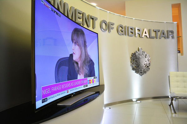 Gibraltar watches with interest results of UK Elections