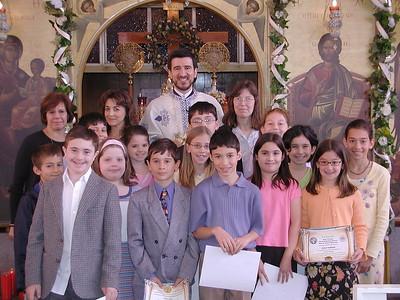Church School Graduation - June 1, 2003