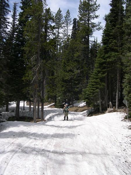 (2003  May 22-26) Mount Adams Attempt.  Gifford Pinchot NF, Washington.