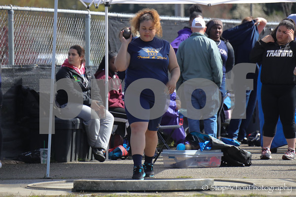 2018-04-21 Eason Invitational - shot put