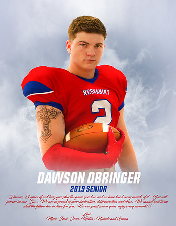 2019 Neshaminy Football Magazine and a few ads