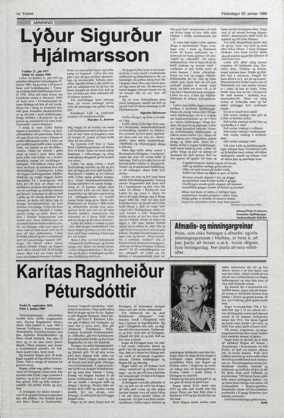 1989 D Karitas Ágústínudóttir.jpg